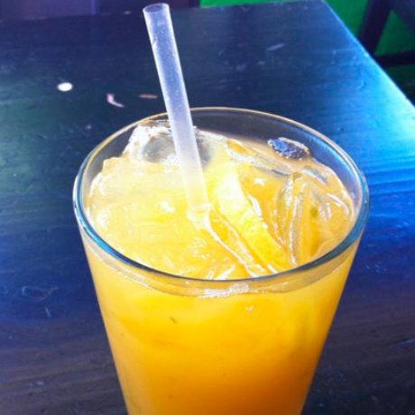 Апельсиновый лимонад с имбирем