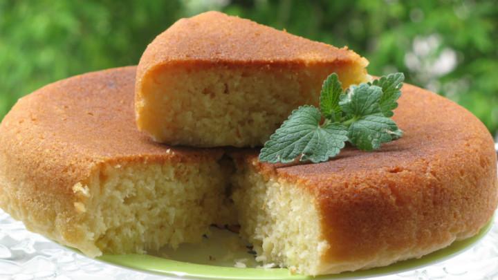 Рецепт пирога манника простой на молоке