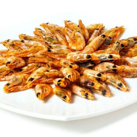 Жареные креветки