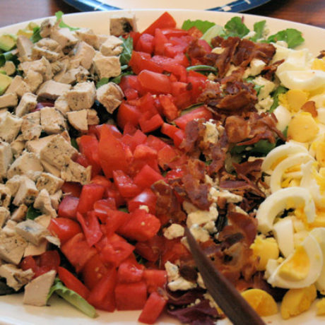 Американский салат Кобб